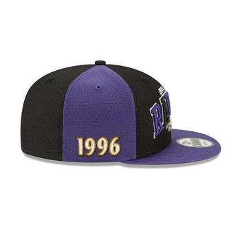 17c0e694 New Era 2019 Baltimore Ravens 9FIFTY NFL Home Sideline Snapback Hat ...