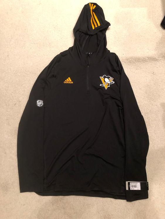 the best attitude a9089 86c22 New Adidas NHL Pittsburgh Penguins Training Hoodie M, Lg, XL Available