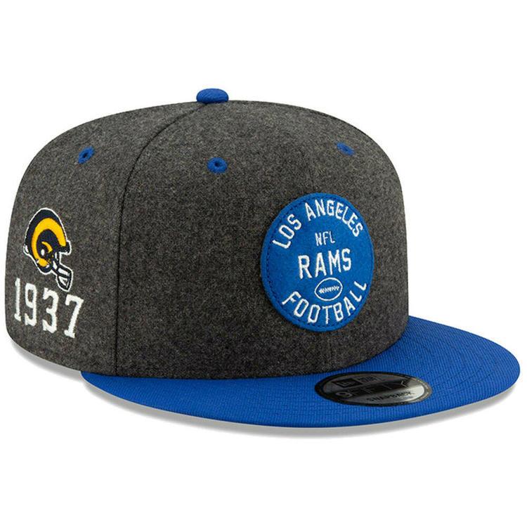 3732ffd4 2019 Los Angeles Rams LA New Era 9FIFTY NFL Home Sideline Snapback Hat Cap  1930s