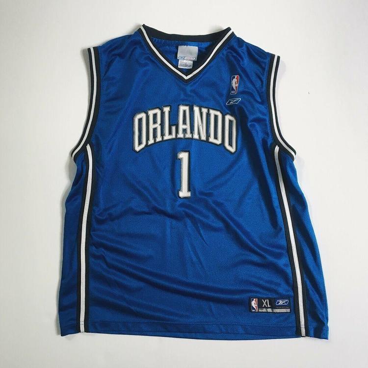 quality design 63157 c99e6 Authentic Reebok Tracy McGrady Orlando Magic NBA Jersey Small