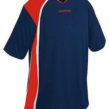 5f7e64385cbde Diadora Serie A Adult Soccer Jersey - Medium - Blue/Red - NEW
