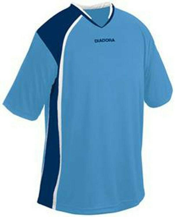 e07da0b2be076 Diadora Serie A Adult Soccer Jersey - Medium - Light Blue/Dark Blue - NEW