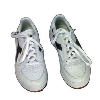 Diadora Condor S Camo High Top Sneakers Womens 5.5 GrayPink
