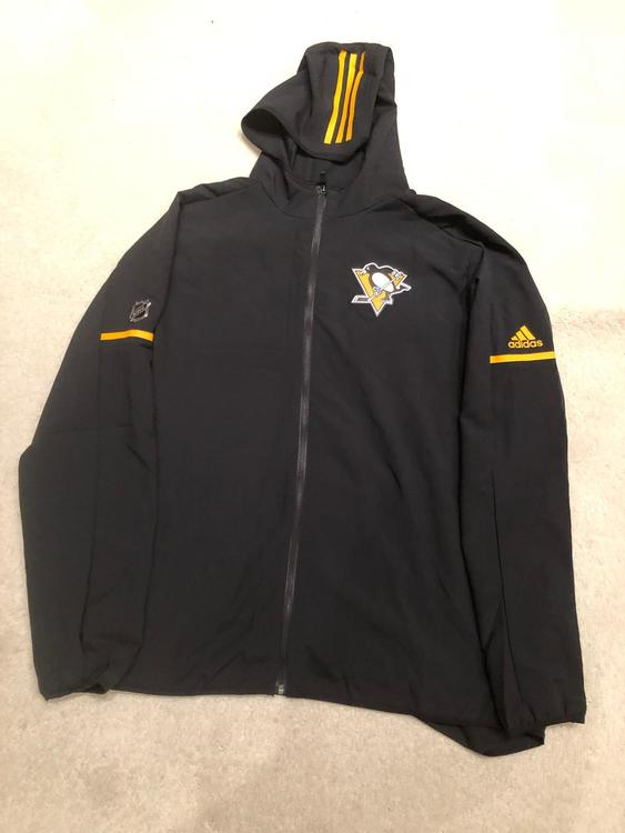 recognized brands top fashion new appearance New Adidas NHL Pittsburgh Penguins Team Issue Full Zip Up Jacket