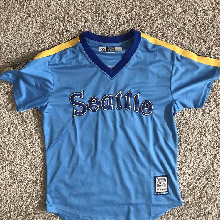 big sale 7280f 6ecc0 Ken Griffey Seattle Mariners Jersey