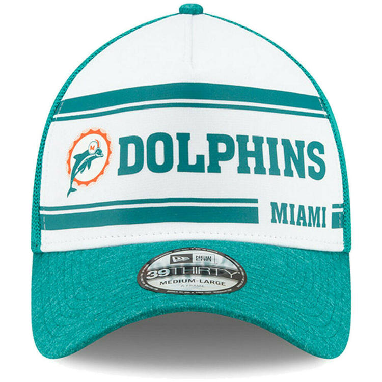 NEW Era 59 Fifty Cap-Sideline Home Miami Dolphins