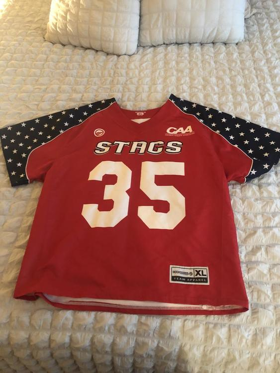 "new styles b7f82 7ef0d Fairfield Lacrosse ""America"" Game Jersey"