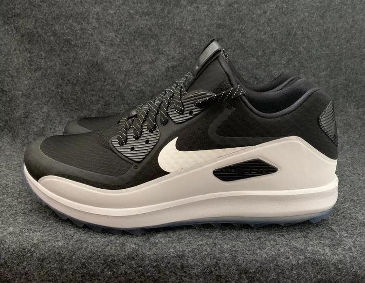 new styles 04782 af063 NEW Nike Air Zoom 90 IT Spikeless Golf Shoes Black White 903227-001 Size 9