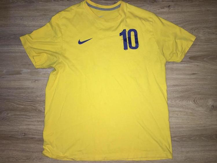 official photos 6a1d4 ff33f (XL) Nike Zlatan Ibrahimović / Team Sweden Shirt
