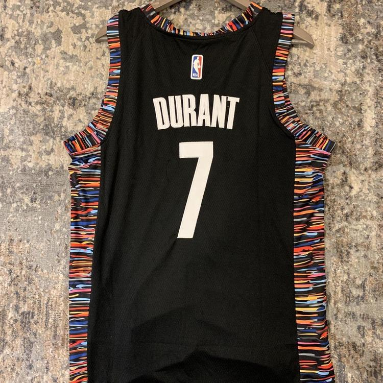 best service be937 2ea0a KEVIN DURANT #7 Brooklyn Nets City Edition Replica Jersey Brand New With  Tags