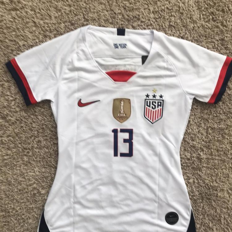 innovative design 2a315 1130d Alex Morgan USA Soccer Jersey