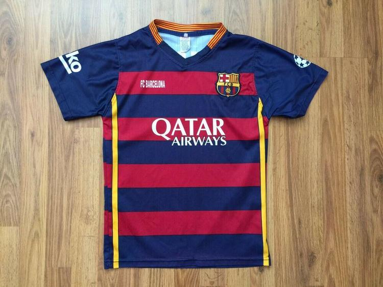 first rate 208cc 44444 FC Barcelona Lionel Messi #10 SUPER AWESOME Futbol Football Sz S Soccer  Jersey!