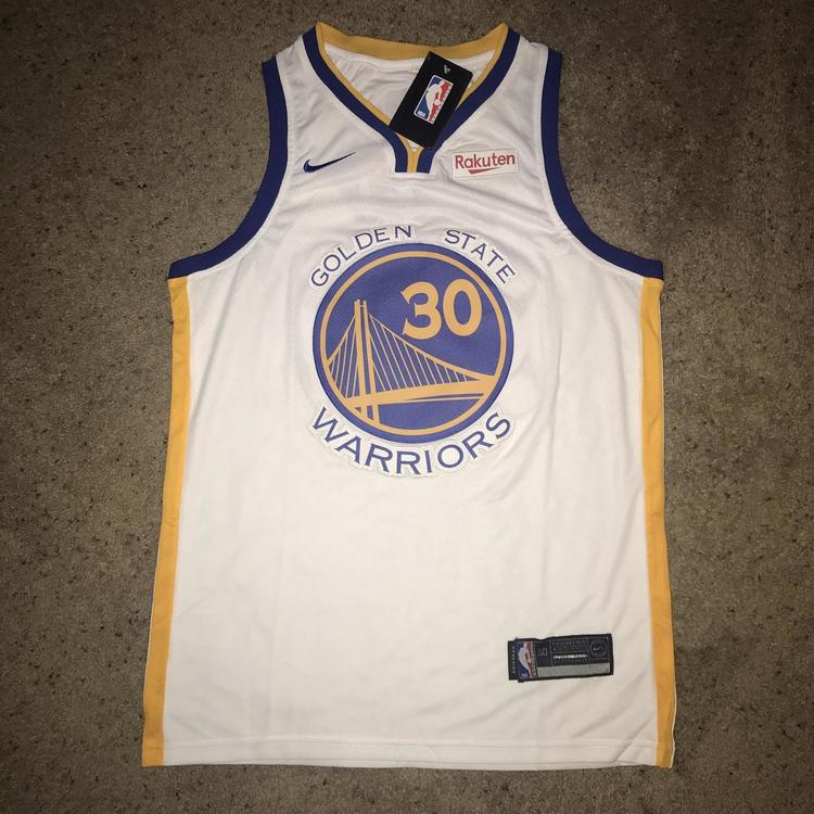 finest selection 94299 172e7 Steph Curry Golden State Warriors NBA Finals Jersey