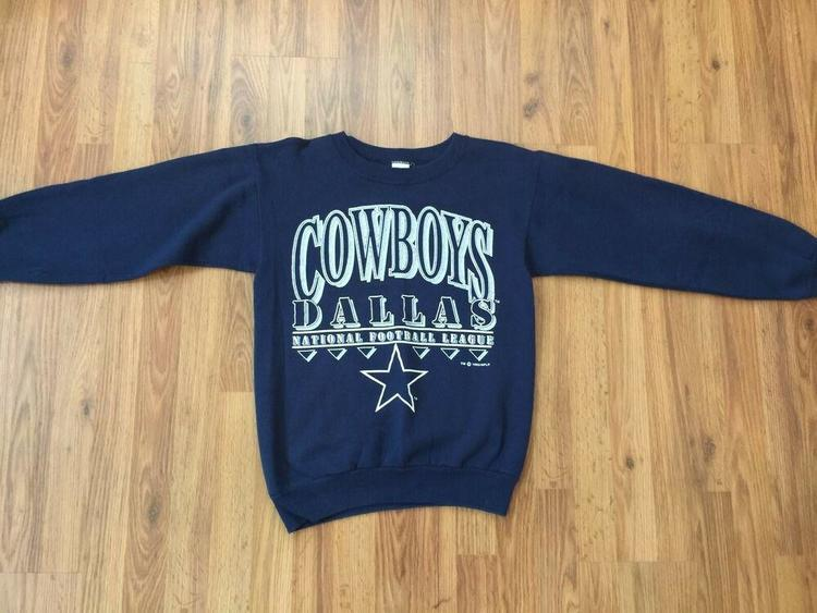 reputable site 88990 e90be Dallas Cowboys SUPER VINTAGE 1992 NFL Football Size Medium Pullover  Sweatshirt!