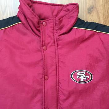 2fa205d7 San Francisco 49ers NFL SUPER VINTAGE 90s Logo Athletic Sz Large ...