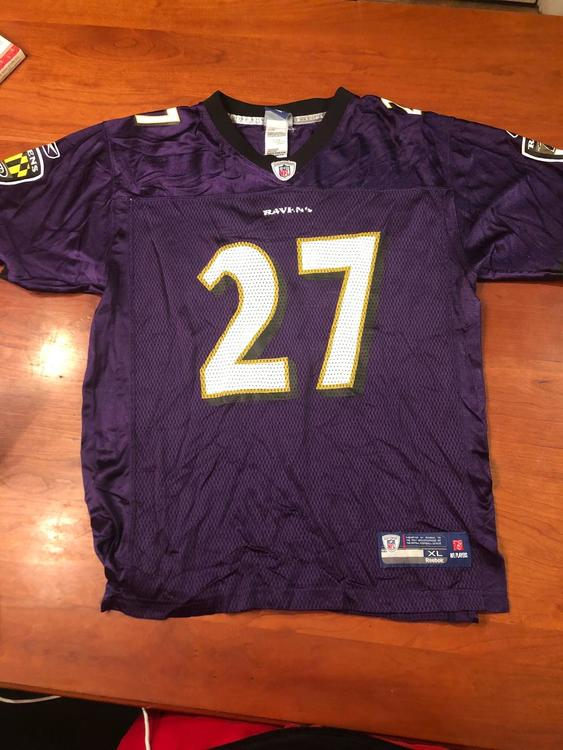 Ray Rice Baltimore Ravens #27 Jersey - Purple. Youth XL / Adult S (18-20)