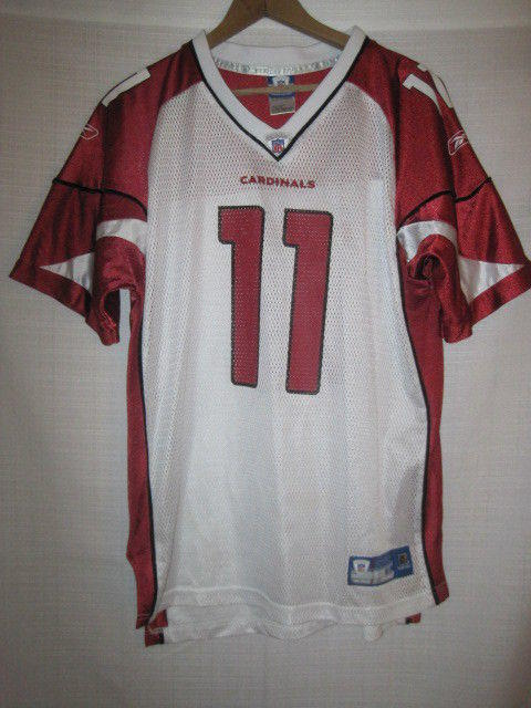 new product 92742 b7272 Arizona Cardinals Larry Fitzgerald football jersey kids boys XL 18/20 Reebok