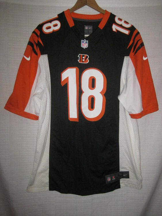 sports shoes 91283 64483 Cincinnati Bengals A.J. Green Nike On Field Football Jersey men's L NFL