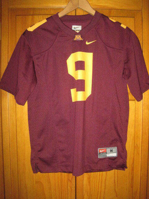 Minnesota Golden Gophers Nike Football Jersey Kids Boys M Maroon 9