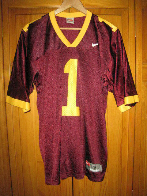 buy popular 95a63 fcf52 Minnesota Golden Gophers Nike football jersey men's S maroon #1