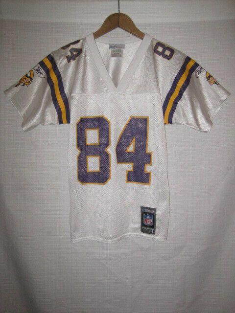 best loved f05cd 422b5 Vintage Minnesota Vikings Randy Moss Football Jersey kids boys S white