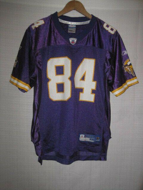 quality design 2e98c ca092 Minnesota Vikings Randy Moss Reebok Football Jersey kids boys L purple