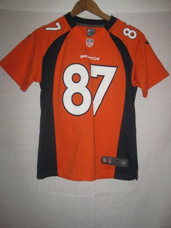 factory price 3a9e5 88571 Denver Broncos Eric Decker Nike On Field Football Jersey kids boys M 10/12  NFL