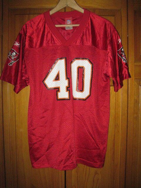 a9a2870e Vintage Tampa Bay Buccaneers Mike Alstott football jersey kids boys XL 18-20
