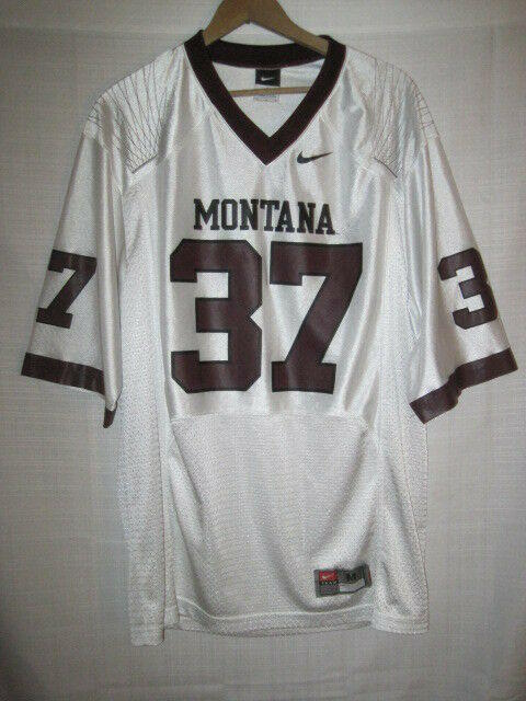 quality design 2dbf2 23483 Montana Grizzlies Nike college football jersey men's M white #37