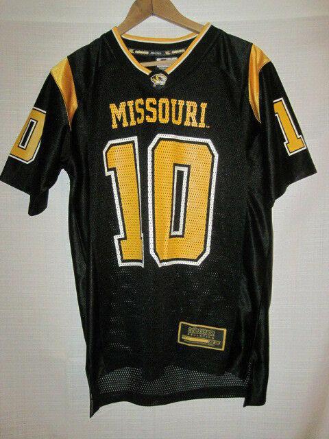 new arrival 197dd 0622b Missouri Tigers college football jersey kids boys youth L 16/18 black #10