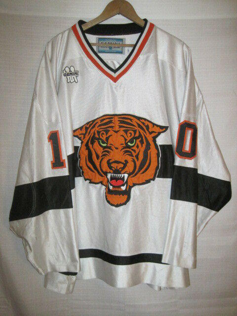 hot sale online 4a86d ae922 Princeton Tigers Game Worn High School hockey jersey men's 52 #10 Minnesota