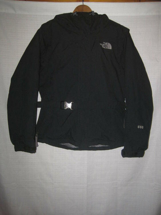5c071a9fe The North Face 550 Goose Down Puffer Jacket women's S black skiing snow