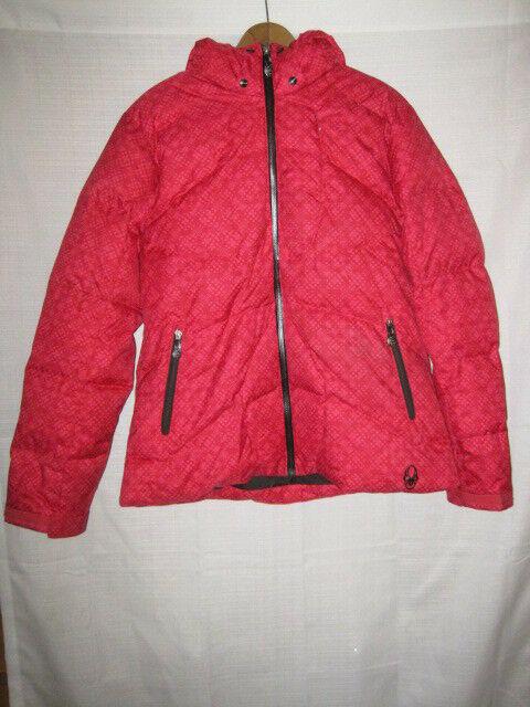 af1e5fc0b Spyder Siren Goose Down Insulated Ski Jacket women's 14 Waterproof
