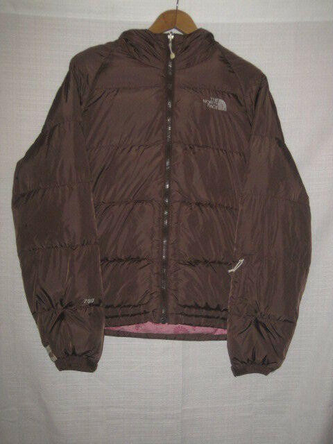 4e59e63b0 The North Face 700 Fill Goose Down Puffer Jacket women's M brown