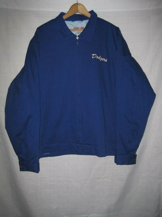 promo code b49dc 874cb Brooklyn Dodgers Moonlight Graham Throwback Baseball Jacket men's L blue