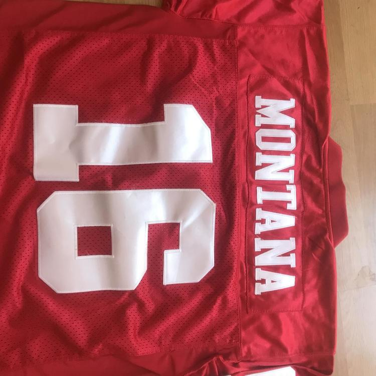 finest selection c6fac 2b2cc Mitchell & Ness Jerseys Joe Montana Adult