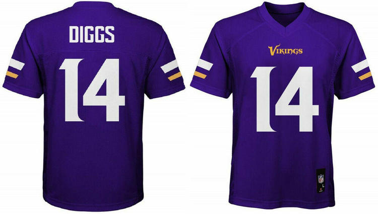 check out cbe2e 48976 Stefon Diggs Minnesota Vikings #14 NFL Home Purple Boys Jersey Outerstuff  Youth