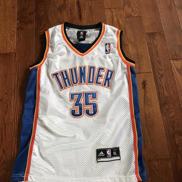 super popular 9805d afc2e Kevin Durant Thunder Jersey