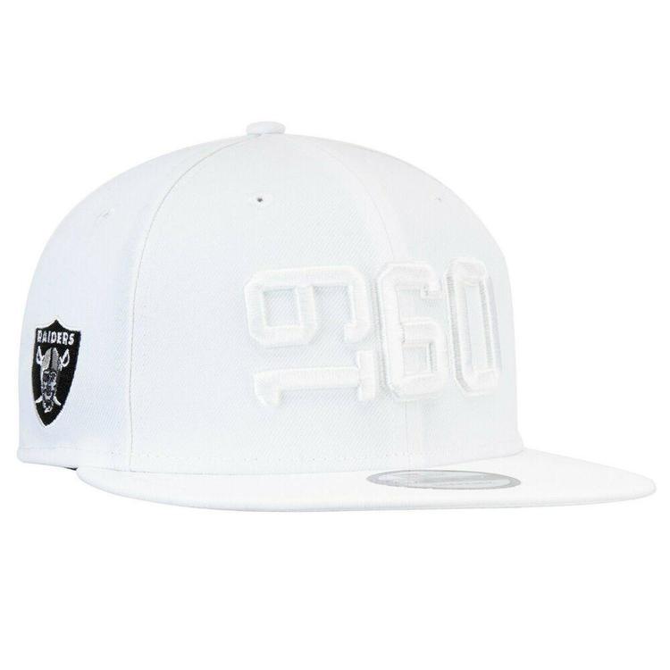 a350a4c1c 2019 Oakland Raiders New Era 9FIFTY NFL Color Rush Sideline Snapback Hat Cap