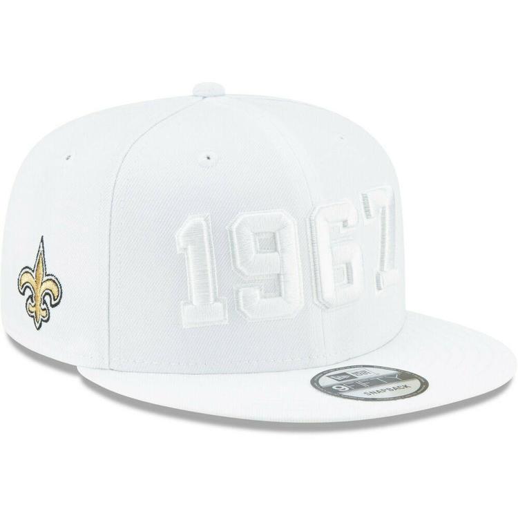dc2fc9299 2019 New Orleans Saints New Era 9FIFTY NFL Color Rush Sideline Snapback Hat  Cap