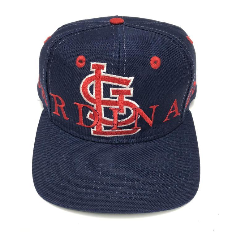 48cd14f1 Vintage St Louis Cardinals Snapback Hat MLB Baseball Cap