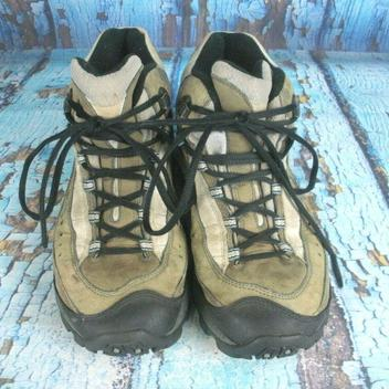 Merrell Pulse II Mid Waterproof Hiking Boots Shale Brown
