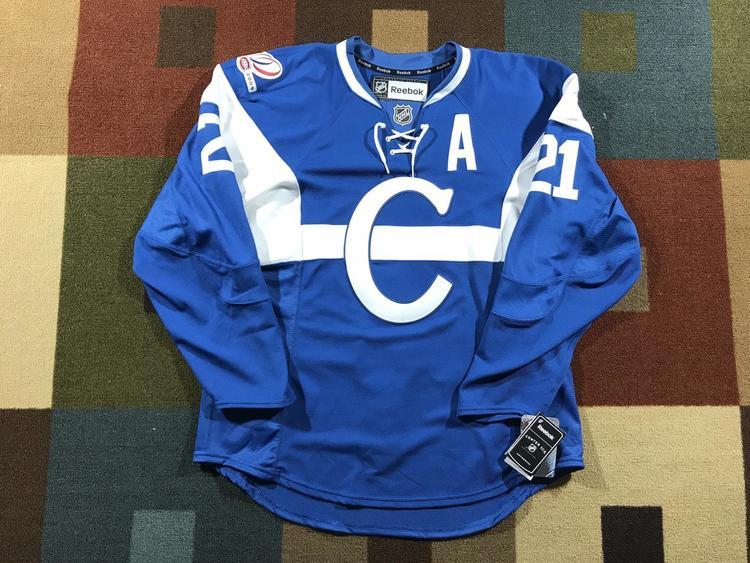 official photos 14e77 91657 Montreal Canadiens Gionta 1909-10 Centennial Reebok Authentic Jersey NWT -  52
