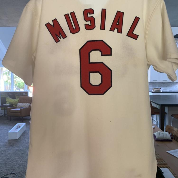 newest 461dc 924f7 Stan MUSIAL #6 MLB Authentic Cooperstown Collection Mitchell & Ness Jersey