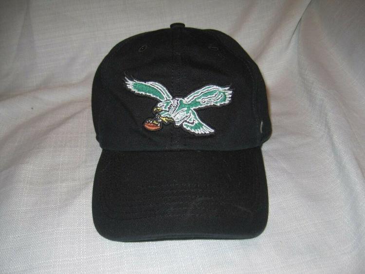 promo code 204ef 4c26a Philadelphia Eagles Football Franchise Baseball Hat Cap Black '47 Brand 3XL  NEW