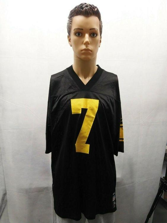 sale retailer 31693 8e82b Reebok Ben Roethlisberger Pittsburgh Steelers 3rd Jersey XL NFL