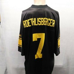 check out 4510c c9cbc Reebok Ben Roethlisberger Pittsburgh Steelers 3rd Jersey XL ...