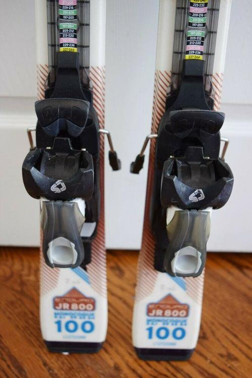 Salomon Enduro JR800 Kids Skis 100 cm Used