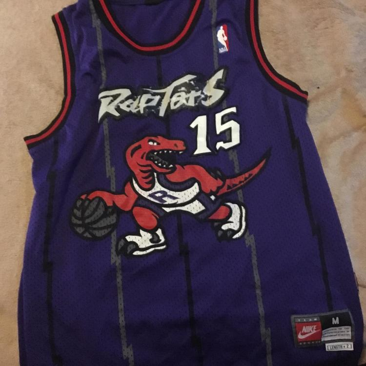 new style 91cd7 3cf59 Nike Vince Carter Vintage Raptors Jersey