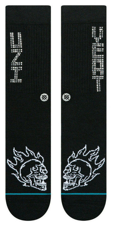 Stance x Lil Uzi Vert Diamond YEAT Logo Hip Hop Rap Socks Large Mens 9-12  Anthem